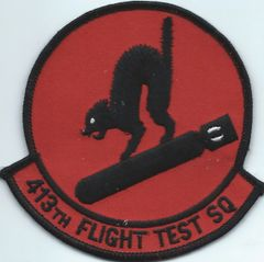 USAF PATCH 413 FLIGHT TRST SQUADRON SPECIAL OPERATIONS