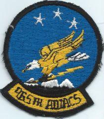 USAF PATCH 965 AWACS E-3