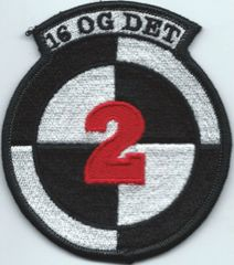 USAF PATCH 16 OPERATIONS GROUP DETACHMENT 2**