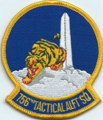 USAF PATCH 756 TACTICAL AIRLIFT SQUADRON