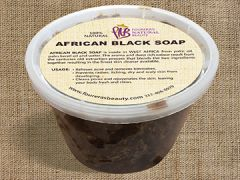 African Black Soap (16oz) Bulk