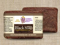 African Black Soap (8oz) Bar