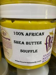 SHEA BUTTER SOUFFLE YELLOW 16oz