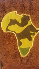Camo Africa Hand Towel