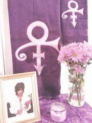 His Purple Majesty Towel Set