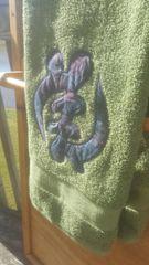Olive Gye Nyame Bath Towel