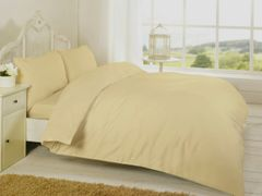 Mocha Egyptian Cotton 200 TC duvet cover