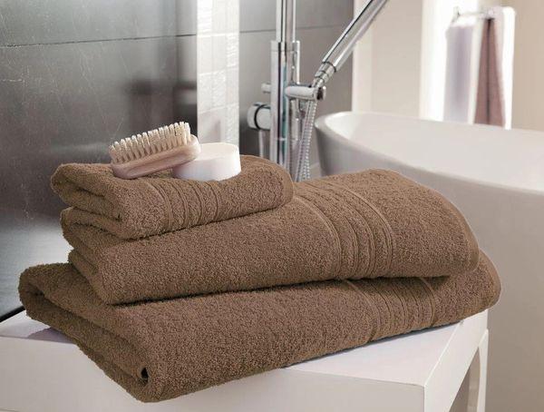 Hampton brown Egyptian Cotton towels