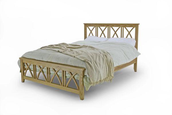 Ashby solid oak bed frame
