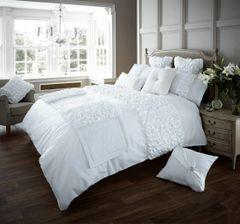 Verina white duvet cover