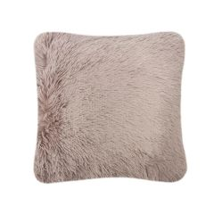 Fluffy fur mink cushion cover