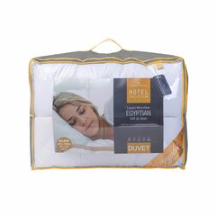 Hotel Collection Egyptian cotton microfibre 13.5 tog duvet