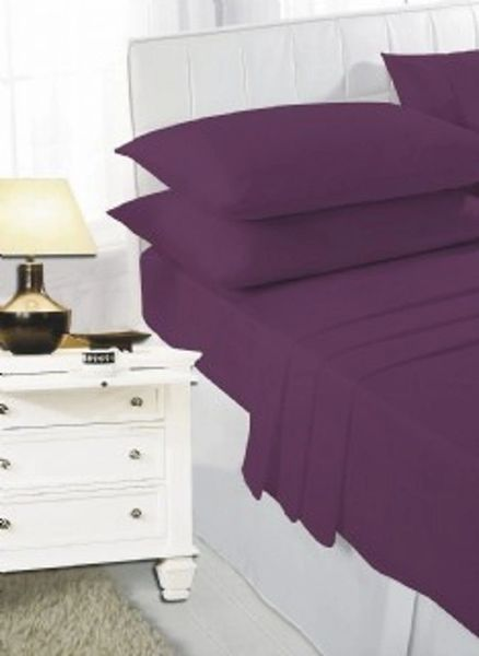 Plum sheet set