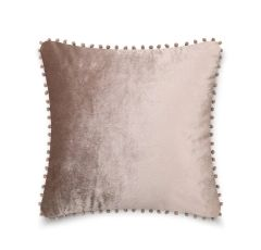 Pom pom mink cushion cover