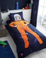 Space Chimp duvet cover