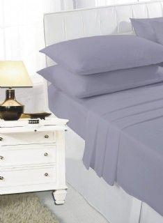 Dark grey fitted sheet
