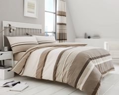 Hudson natural duvet cover