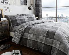 Denim Check grey complete set
