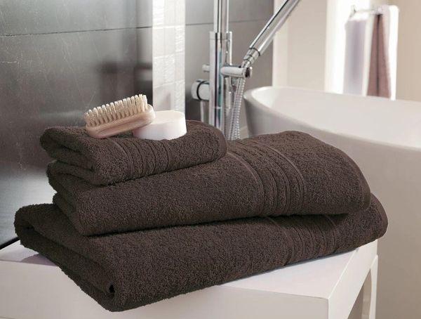Hampton walnut Egyptian Cotton towels