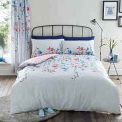 Erika grey duvet cover