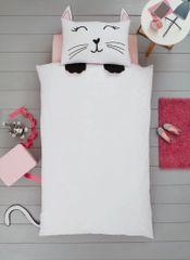 Cat shaped duvet cover