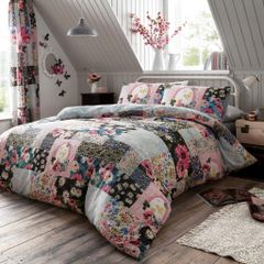 Ellis cotton blend duvet cover