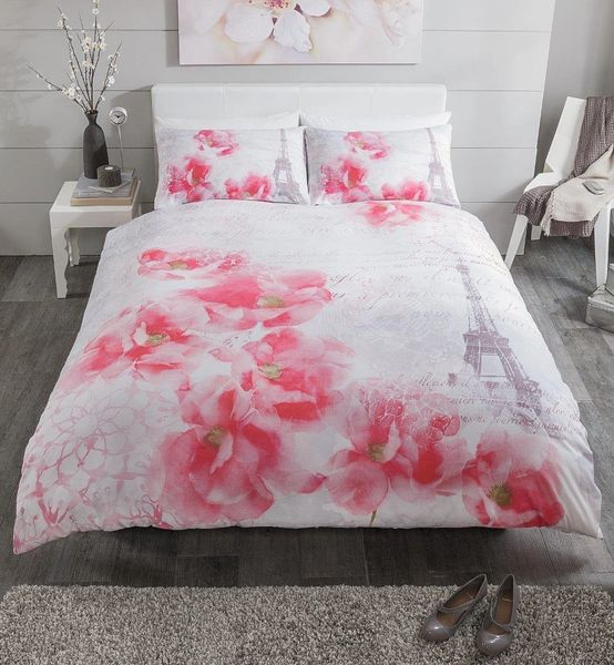 Tinted Dream pink duvet cover