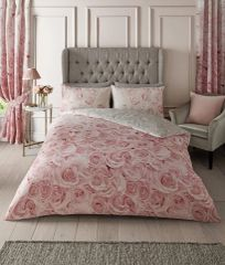 Bellerose pink cotton blend duvet cover