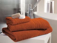Hampton orange Egyptian Cotton towels