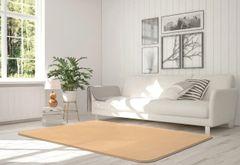 Velvet gold rug