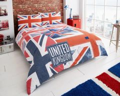 Denim Flag duvet cover