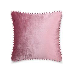Pom pom pink cushion cover