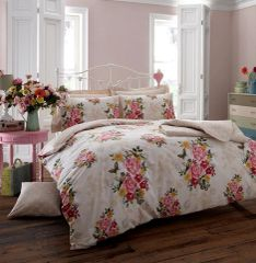 Ava cream duvet cover