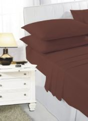 Chocolate flat sheet