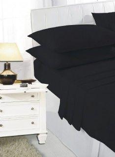 Black flat sheet