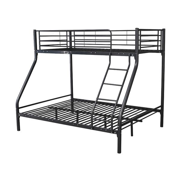 Montreal Triple Metal Bunk Beds Black Discount Home Textiles