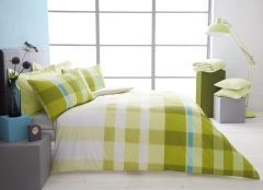 Valentino green duvet cover