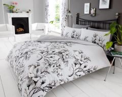 Eden grey duvet cover