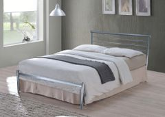 Cole mesh base metal bed frame