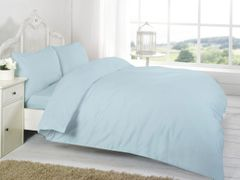 Blue Egyptian Cotton 200 TC flat sheet