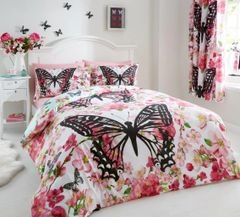 Floral Butterfly duvet cover