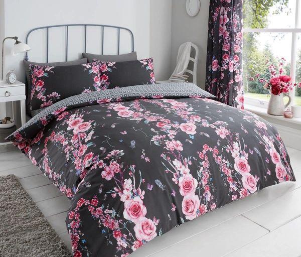 Victoria Floral grey complete set