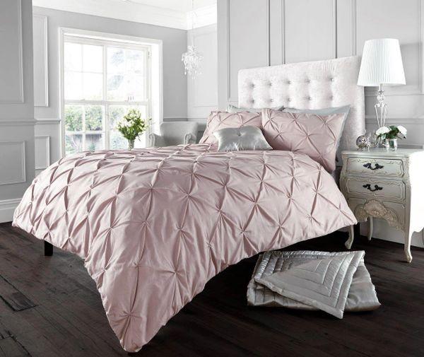 Alford pink duvet cover