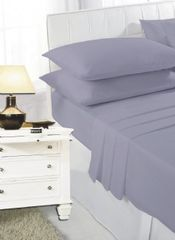 Dark grey sheet set