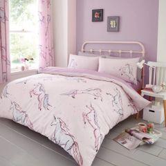 Star Unicorn cotton blend duvet cover