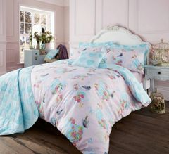 Love Bird pink duvet cover
