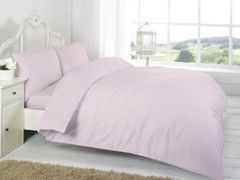 Pink Egyptian Cotton 200 TC flat sheet