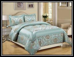 Betty nutmeg 3 piece bedspread