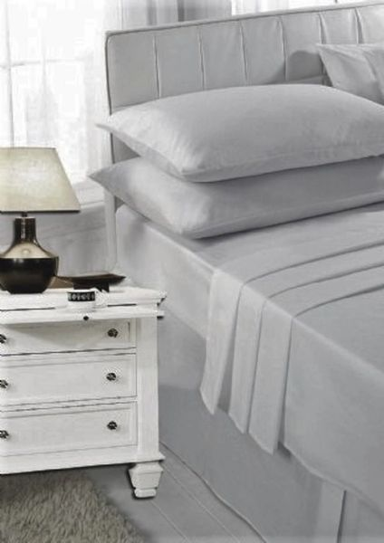 Silver grey pillow cases