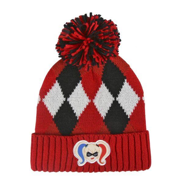 f79294fd902 ... best price dc comics beanie knitted harley quinn logo. 8e0f6 2613c